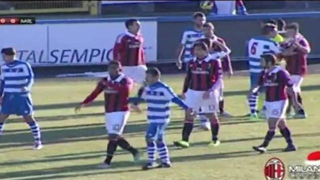 Racist abuse sees Milan friendly abandoned
