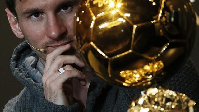 Месси: «Надеюсь снова выиграть «Золотой мяч»
