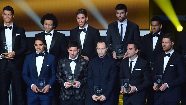 Equipe-type de l'année: Un onze 100% Liga !