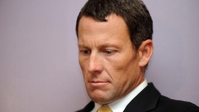 """Armstrong : """"Une période malheureuse pour chacun d'entre nous"""""""
