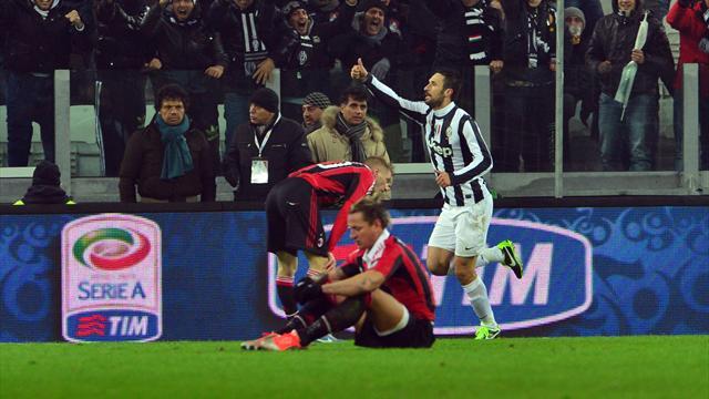 La Juve s'offre l'AC Milan