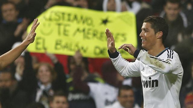 Ronaldo hat-trick fires Real into Copa quarters