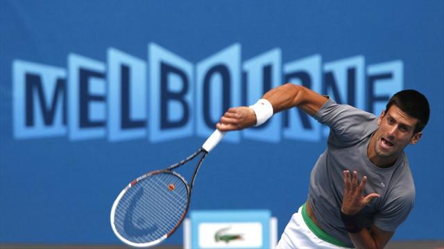 Djokovic avant le coup de chaleur