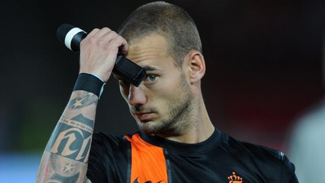 Sneijder not getting the message, says van Gaal