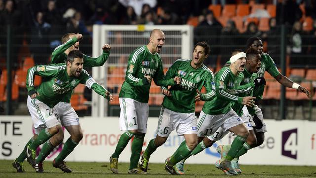 Saint-Etienne arrache sa finale