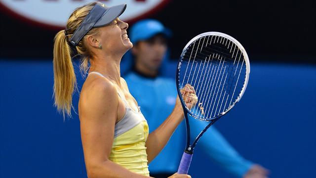 Sharapova sans pitié pour Venus