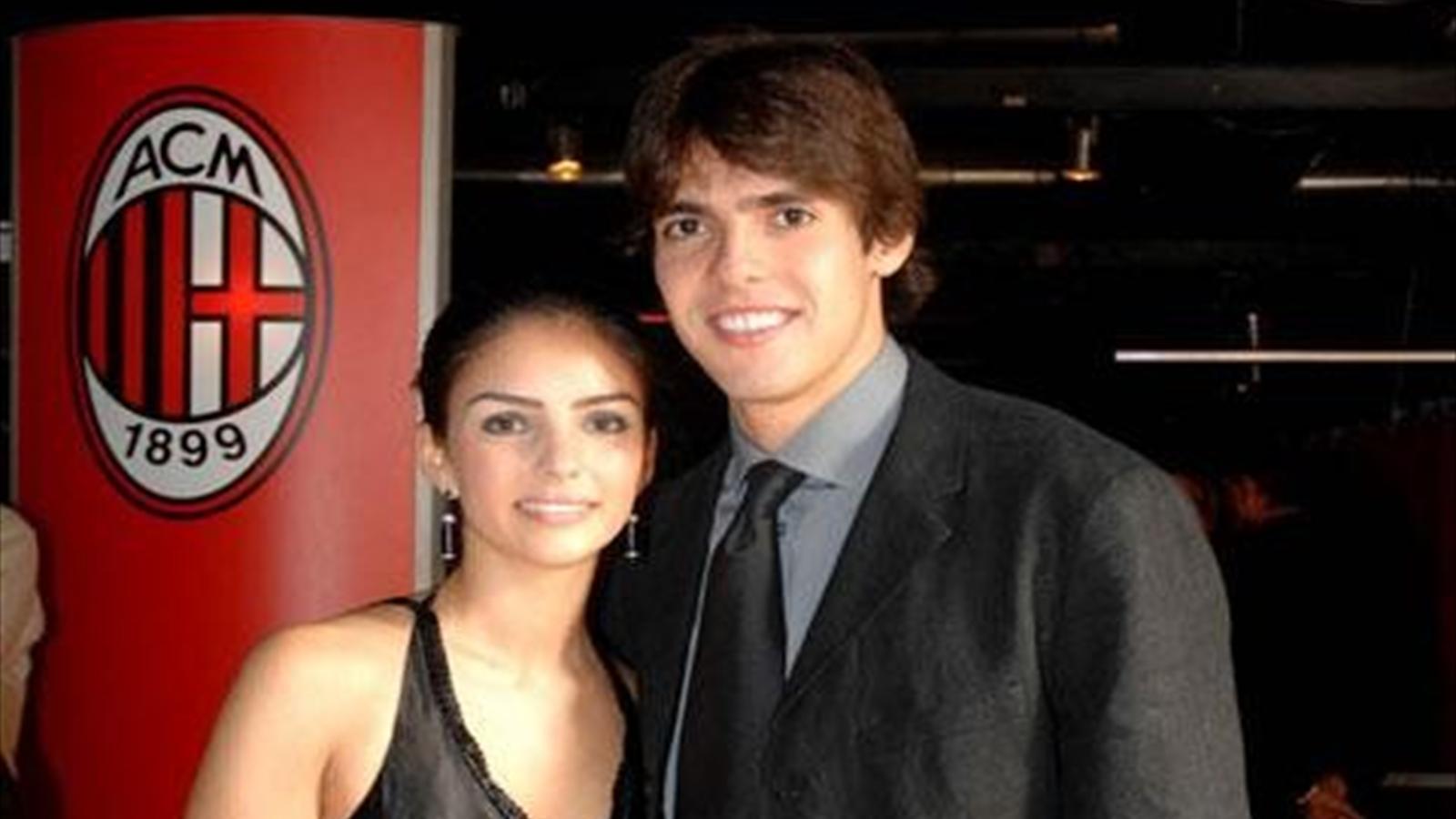 Кака и его девушка фото