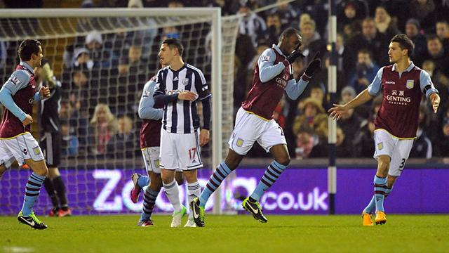 West Brom fightback stuns Villa