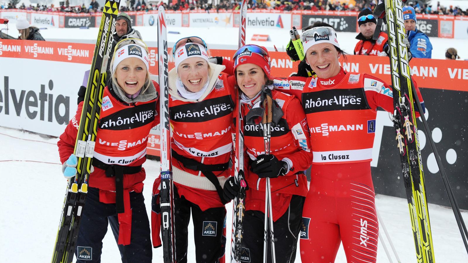 Norway's women ensure clean sweep in La Clusaz - Cross-Country Skiing - Eurosport