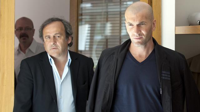 Zidane, Liza et Triaud soutiennent Platini pour la présidence de la FIFA