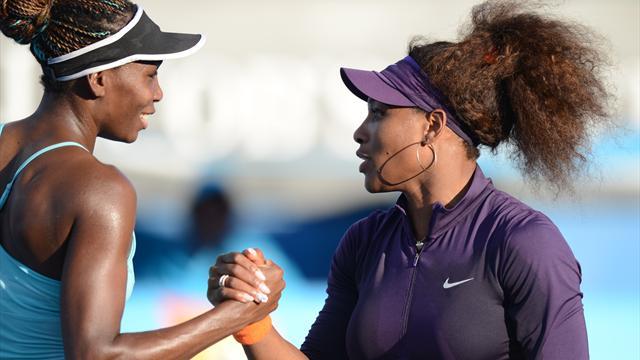 Serena et Venus Williams, les Arlésiennes d'Indian Wells