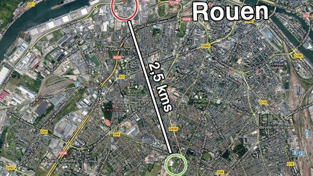 Rouen - OM reporté