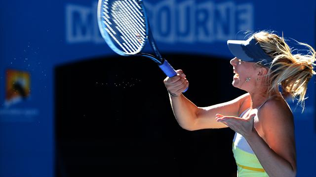 Sharapova tombe à son tour