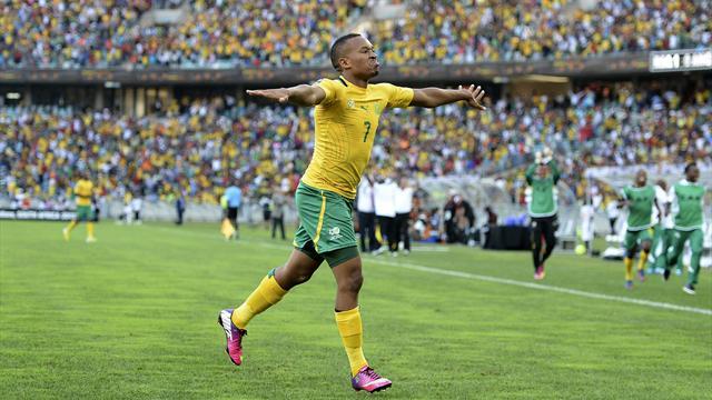 L'Afrique du Sud prend la tête