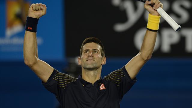 Djokovic en mode destructeur