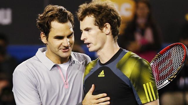 best website 2493c 6798d Open d Australie - Suivez en live la rencontre de Tennis opposant Andy  Murray et Roger Federer. Ce match se déroule le 25 janvier 2013 et débute à  09 30.