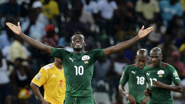 Le boulet de canon d'Alain Traoré offre la troisième place au Burkina Faso