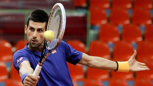 Djokovic lambasts state of court ahead of tie