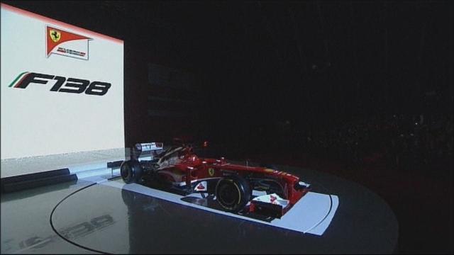 Ferrari : la F138 en images