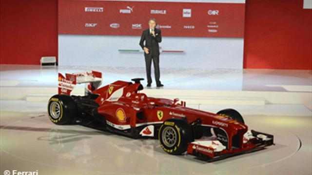 """La Ferrari F138 de """"l'espoir"""""""