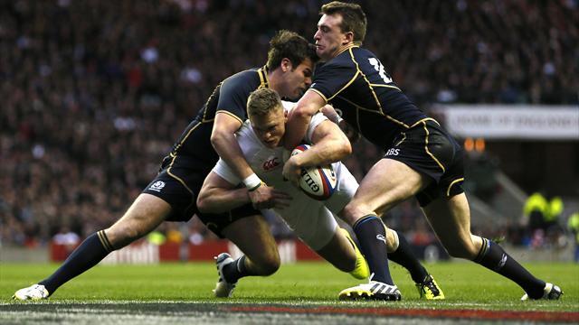 England crush Scotland at Twickenham
