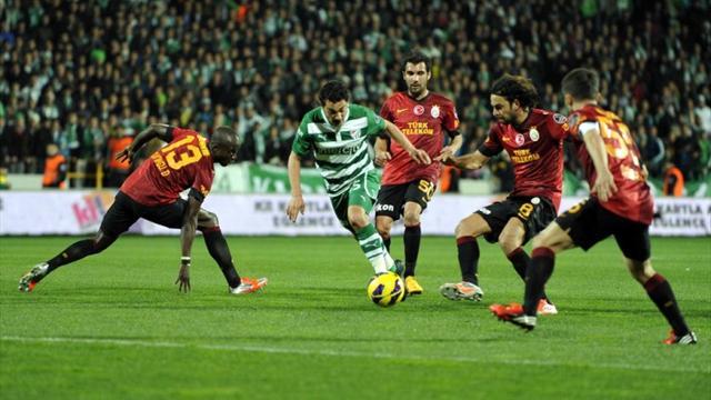 Bursaspor - Galatasaray  / ÖZET