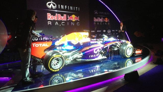 Red Bull launches the RB9 for 2013