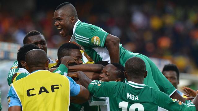 Nigeria shock Ivory Coast as Drogba fails again