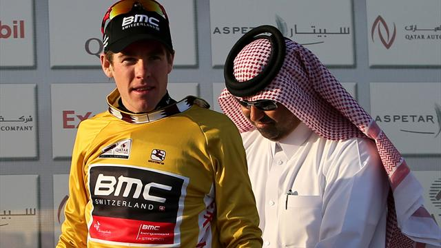 Cavendish sixth as Bookwalter takes Qatar jersey