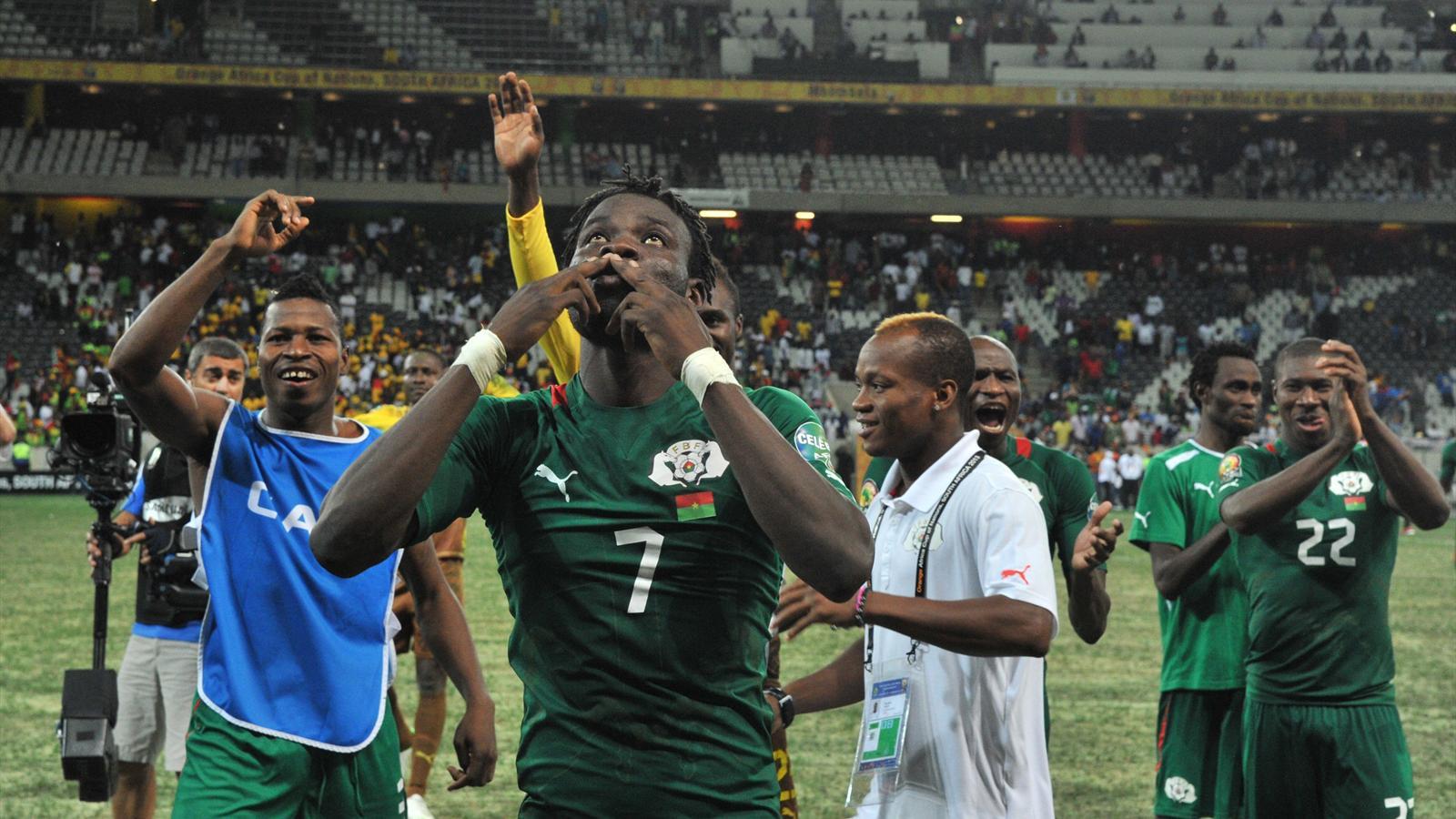 Historique burkina faso coupe d 39 afrique des nations 2013 football eurosport - Resultat foot coupe d afrique ...