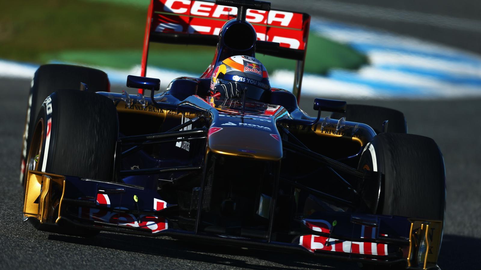 Jerez jean eric vergne toro rosso la voiture semble augurer de bonnes choses formule 1 - Formule vitesse de coupe ...