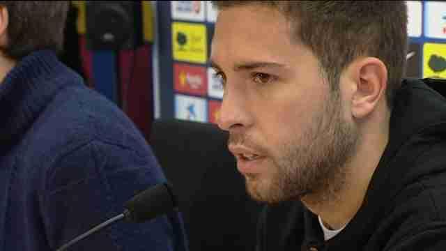 """Alba: """"La renovación de Messi es una buena noticia para todo  el barcelonismo"""""""