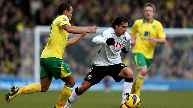 Bore draw for Norwich and Fulham
