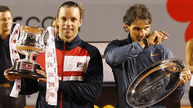 Как Себальос подпортил Надалю возвращение. 11 февраля в истории тенниса