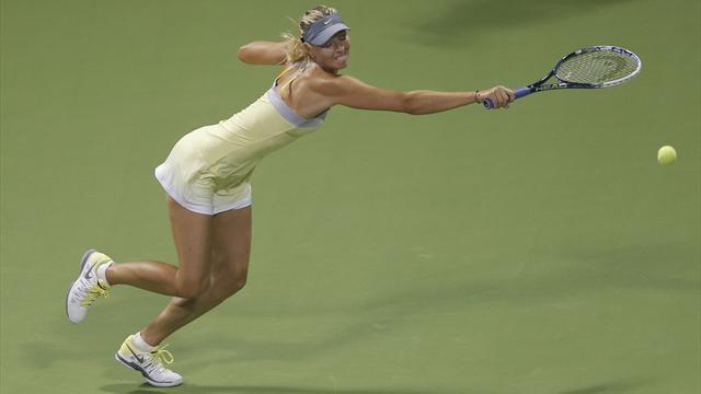Sharapova extends Doha streak, Robson sent packing