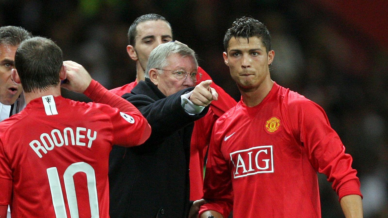 Cristiano Ronaldo Real Madrid Enfant De Manchester