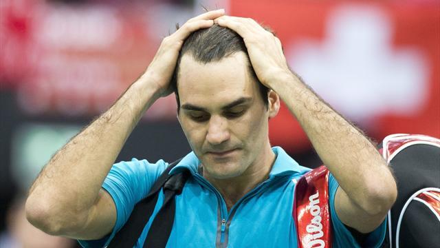 Federer cae Rotterdam '13 - Eurosport