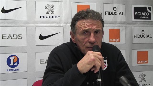 """Novès """"fataliste"""" après la défaite devant Perpignan"""