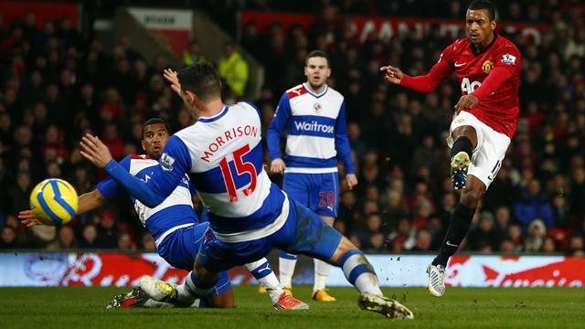 Nani leads United past battling Reading