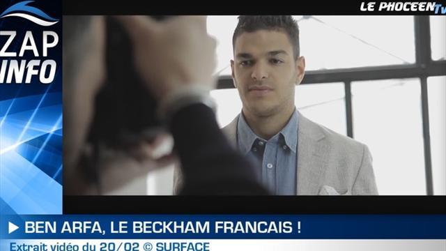 Zap Info : Ben Arfa dans les pas de Beckham