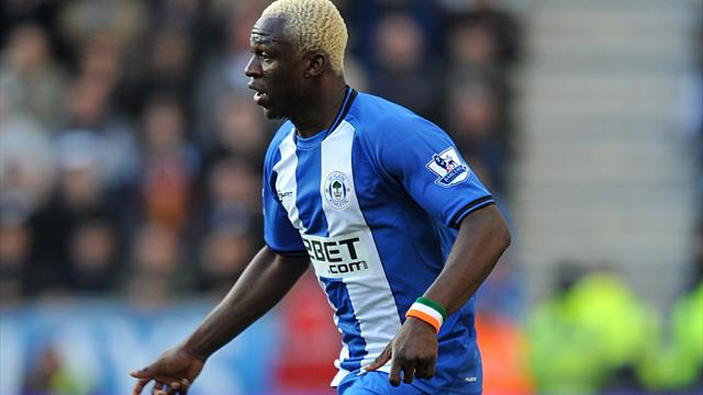 Kone double lifts Wigan out of bottom three