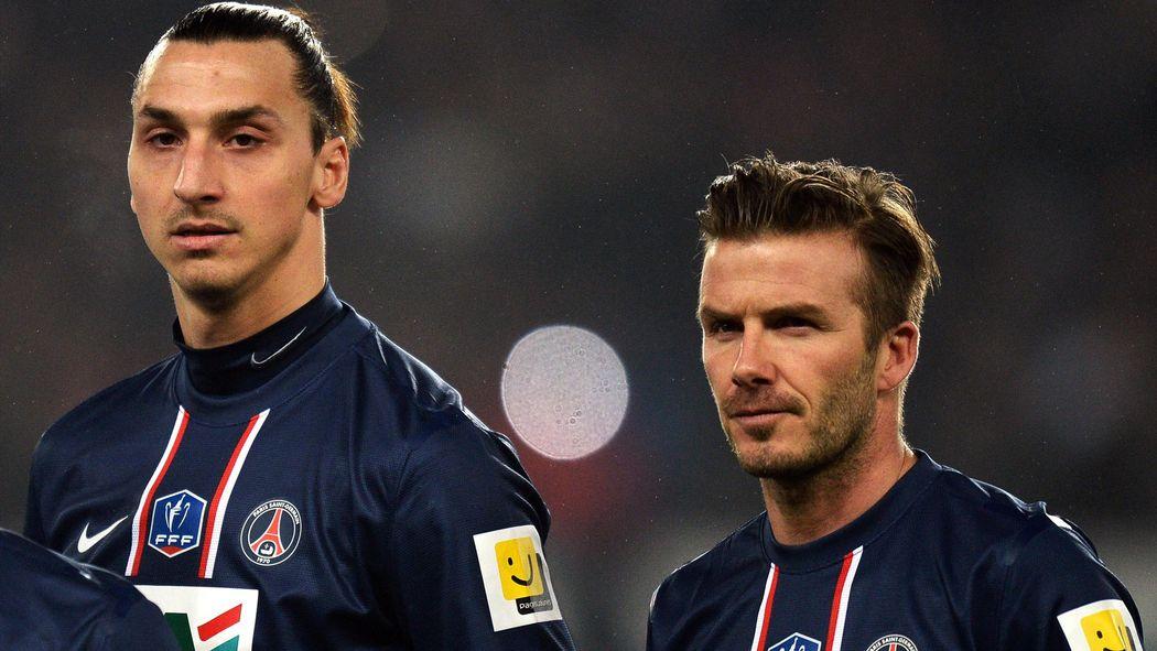 Mondial/Suède-Angleterre : Découvrez le pari fou entre Ibrahimovic et Beckham