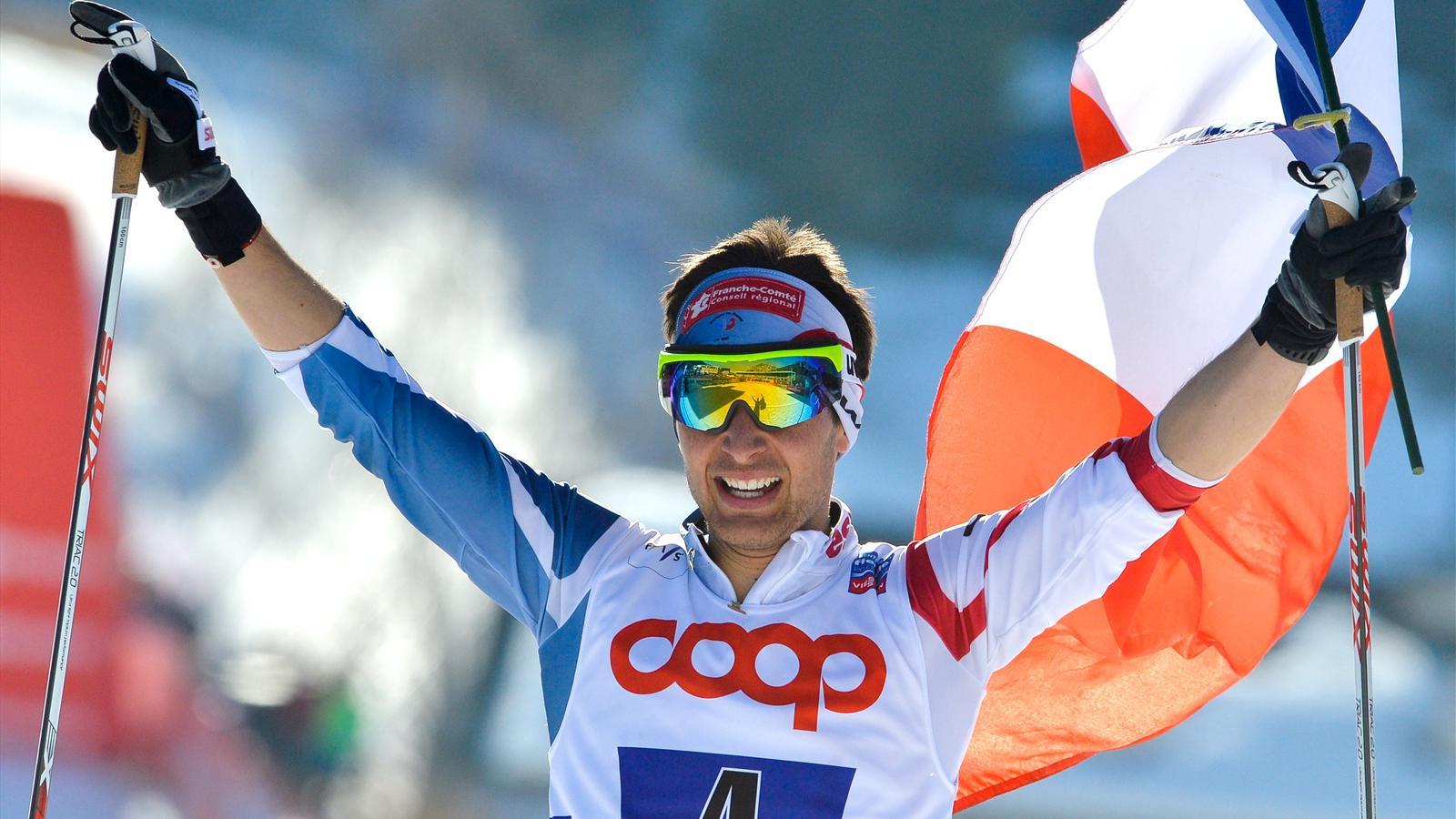 Top 10 France 2013 - Jason Lamy-Chappuis (combiné nordique) à la 8e place