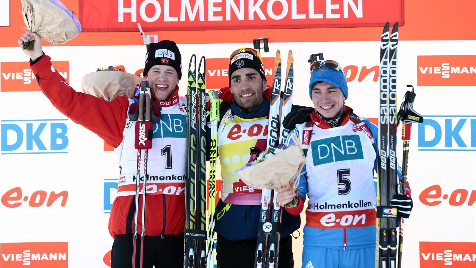 Oslo martin fourcade vingti me victoire en coupe du - Classement coupe du monde de biathlon ...