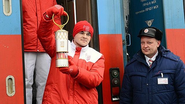 Khabarovsk touchée par la fièvre du relais de la flamme