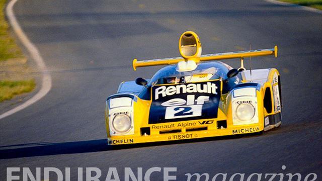 Alpine de retour au Mans en 2013 avec Signatech