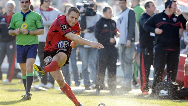 Wilkinson a marqué 45% des points de Toulon