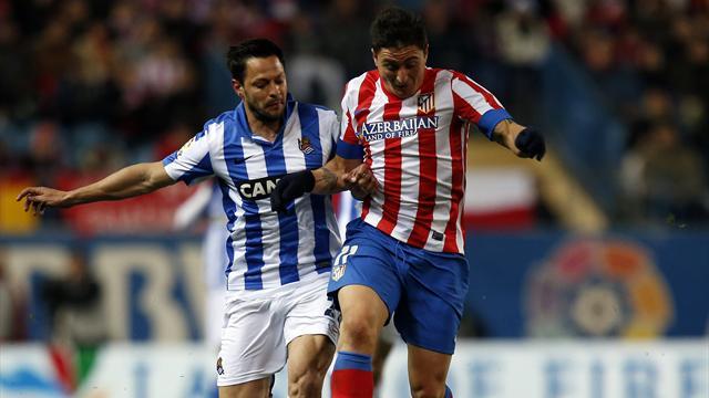 Prieto strikes as Sociedad stun Atletico