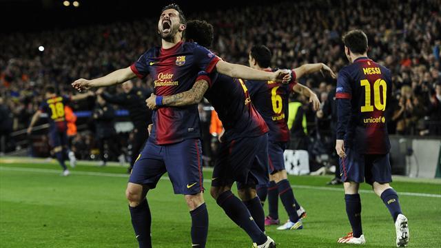 Çeyrek final Barcelona'nın işi