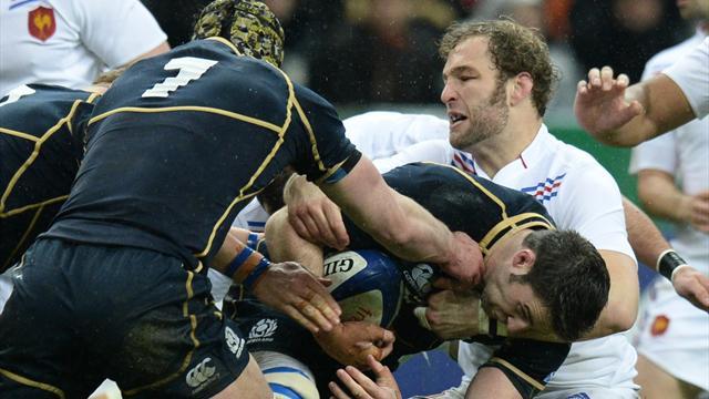 Les Bleus ont balbutié leur rugby